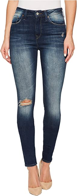 Lucy High-Rise Super Skinny in Ocean Blue Vintage
