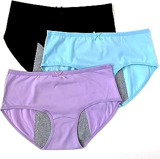 Menstrual Underwear Breathable Period Panties Postartum Inconvience Panty Multi Pack for Women Girls