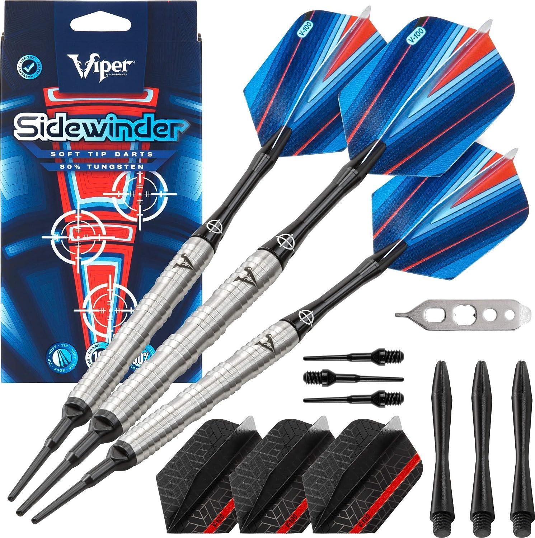 Viper Sidewinder 80% Tungsten Soft Grams Darts 18 Free shipping Tip Store