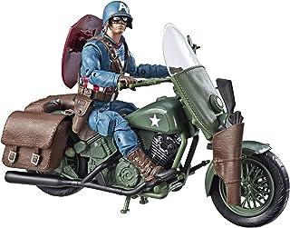 Marvels Legends Series Capitán América con motocicleta