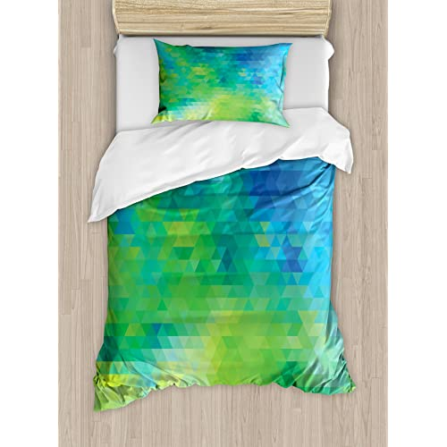 amusing green turquoise bedroom | Lime Green Bedding: Amazon.com
