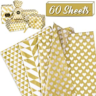 gold gift wrapping paper