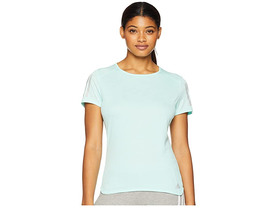 adidas Response Short Sleeve Tee (Clear Mint) Women