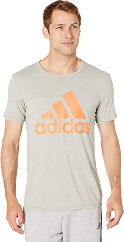 Medium Grey Heather/True Orange