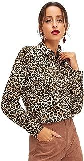 Best leopard print dress shirt Reviews