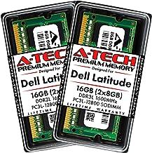 A-Tech 16GB (2x8GB) RAM for Dell Latitude E6530, E6430, E6430s, 6430u, E6330, E6230, E5530, E5430 | DDR3/DDR3L 1600MHz SOD...