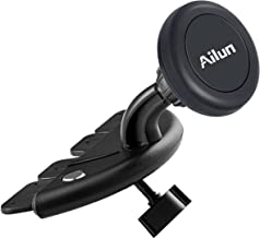 Ailun Car Phone Mount CD Slot Magnetic Car Mount Magnet Key Holder Universal for iPhoneX Xs XR Xs Max 8 7 6 6s Plus Galaxy S10 S8 S9 Plus S7 Note 10 Google LG HTC and More Devices
