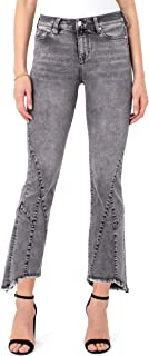 """Liverpool Women's Crop Flare Patched Hem 26"""" Ins"""