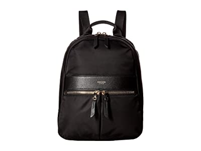 KNOMO London Mayfair Mini Beauchamp Backpack (Black) Backpack Bags