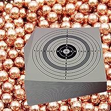shoot-club Schusspflaster Set Zielscheiben 14 x 14 cm je 2000 St/ück pro Rolle 2X Rolle wei/ß /& 2X Rolle schwarz 19 mm selbstklebend inklusive 10 ShoXx