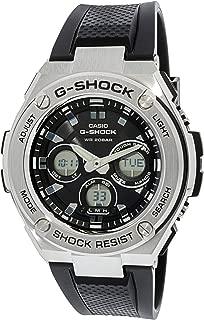 Men's G-Shock GSTS310-1A Black Polyurethane Japanese Quartz Sport Watch