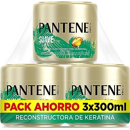 Pantene Pro-V Suave & Liso Mascarilla capilar de queratina ...