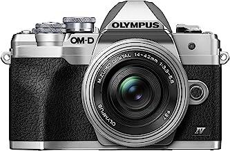 $599 » Olympus OM-D E-M10 Mark IV Silver Body with Silver M.Zuiko Digital ED 14-42mm F3.5-5.6 EZ Lens Kit