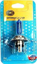 Genuine Hella H4 P43T Xenon Indicator Bulb (12V, 130/90W) -4400K Intense white illumination-Stylish outlook offroad driving bulb