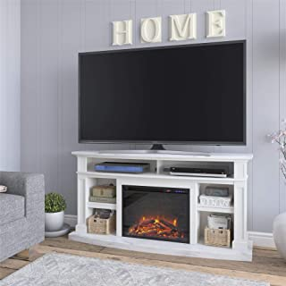 REALROOMS Elena Fireplace TV Stand for TVs up to 60