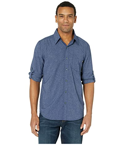 Marmot Aerobora Long Sleeve Shirt (Arctic Navy) Men