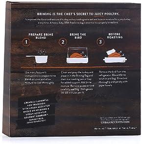 Urban Accents Gourmet Turkey Brining Bag, 3.2 Ounce