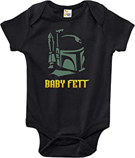 Rapunzie Baby Bodysuit - Baby Fett Baby Clothes for Infant Boys and Girls