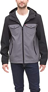 Levi's Men's Arctic Cloth Performance Hooded Rain Jacket