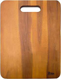 Wood Cutting Board, AIDEA 1- Piece 16 Inch Acaciawood Chopping Boards for Kitchen, Knife-friendly Wooden Cutting Board Best for Chopping Meat/Vegetables and Fruits -Easy Cleaning (1 Piece)