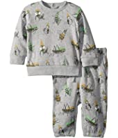 Stella McCartney Kids - Billy + Loopie Bug Printed Fleece Set (Infant)