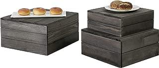 Best wooden buffet risers Reviews