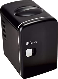 Uber Appliance UB-CH1 Mini Fridge 6 Can/4 Liter Capacity Por