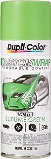 Dupli-Color ECWRC8037 Custom Wrap Matte Sublime Green