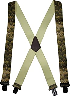 Mens Camouflage Theme Clip Suspender Made in the USA BuyYourTies