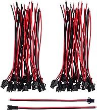 TERMINALI cilindrici femmina rosso 50 pezzo per Cavo 0,5-1,5mm² Cavo Auto Scarpe