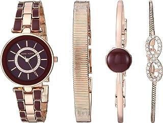 ساعت مچی زنانه Anne Klein Swarovski Crystal Accented Watch و دستبند
