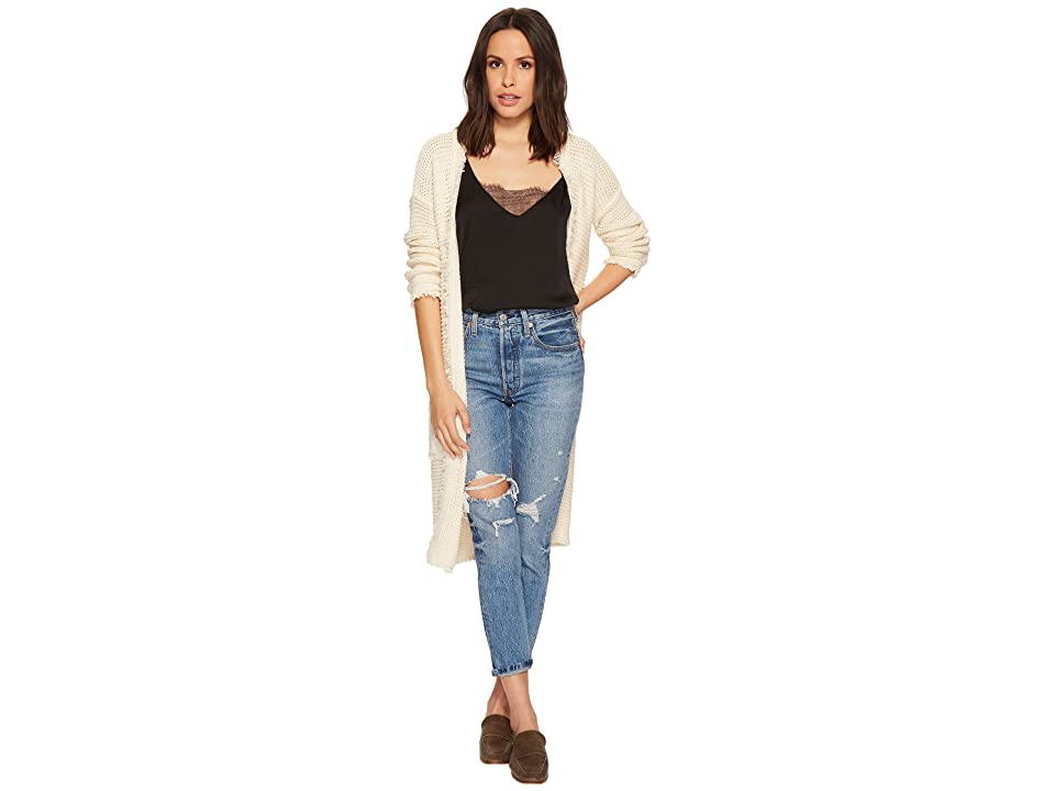 Free People Woodstock Cardi (Ivory) Women