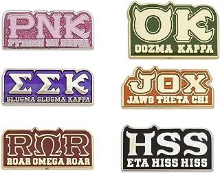 Disney Monsters University Greek Pin Set