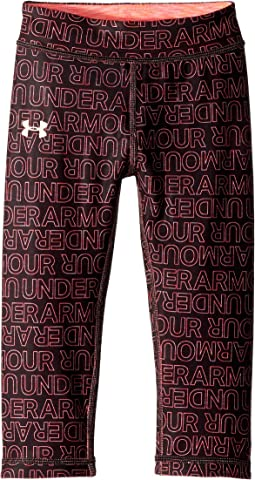UA Wordmark Reversible Capris (Little Kids)