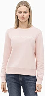 Calvin Klein Jeans Women's Institutional Logo Regular Fit Crew Neck