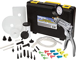 Mityvac MV8500 Silverline Elite Automotive Test Kit Provides both Vacuum and Pressure to Perform Engine Performance Diagnostics, Brake Bleeding, Fluid Transfer, Evacuation, Windshield Repair Jobs