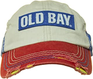 Distressed Logo Men's Baseball Cap Hat (one size, adjustable)