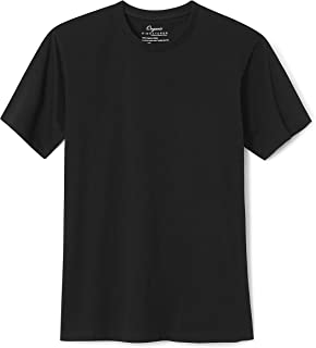 Men's Short-Sleeve Crewneck Cotton T-Shirt