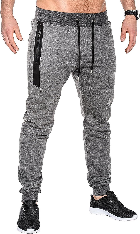 MODCHOK Mens Jogger Sweatpants Fleece Pants Workout Trousers Slim Fit Tracksuit