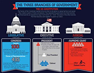 3 branches of government chart