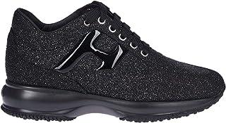 HOGAN Luxury Fashion Womens HXW00N0S360LNY0ZHC Black Sneakers | Fall Winter 19