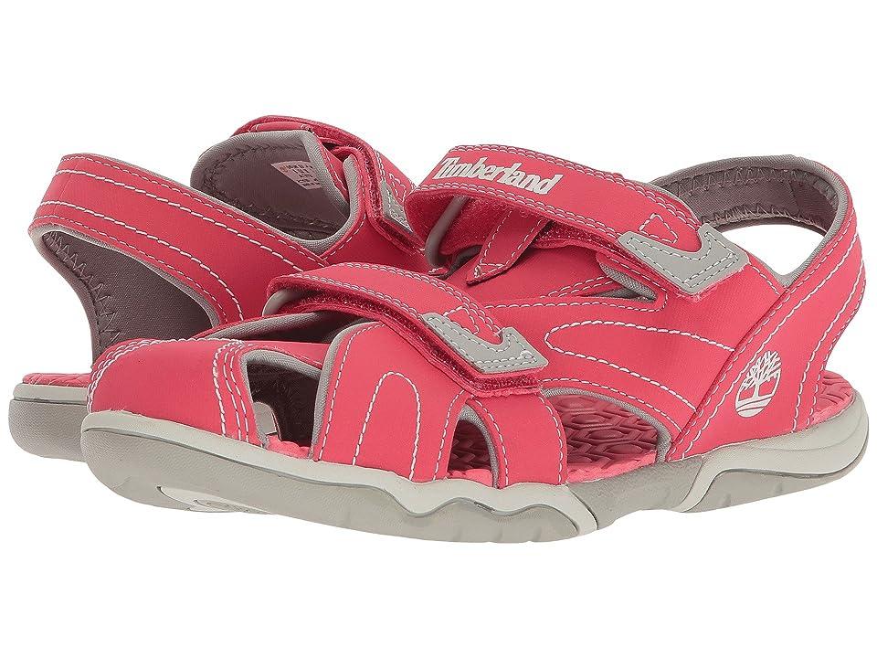 Timberland Kids Adventure Seeker Closed Toe Sandal (Big Kid) (Geranium) Boys Shoes