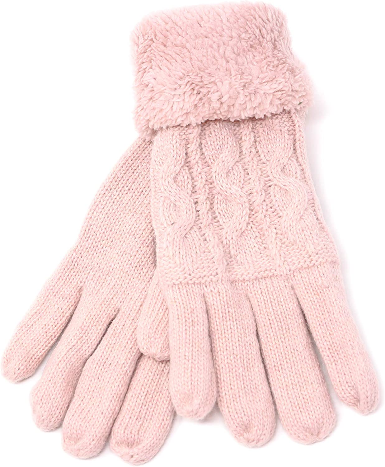 Womens Winter Snow Gloves Sleeve Arm Warmer Thermal Insulated