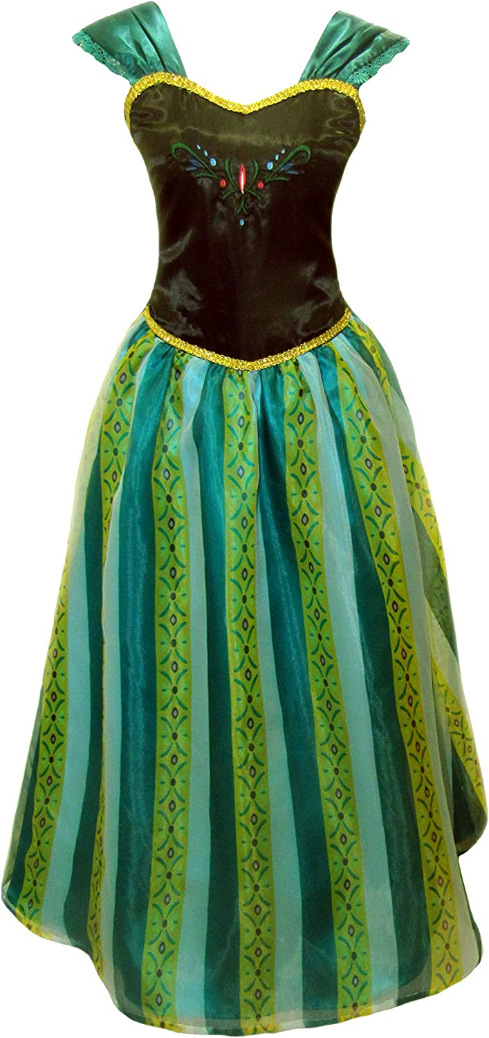 Cokos Novelty Adult Women Free shipping anywhere in the nation Coronation Dress H Princess Homecoming mart