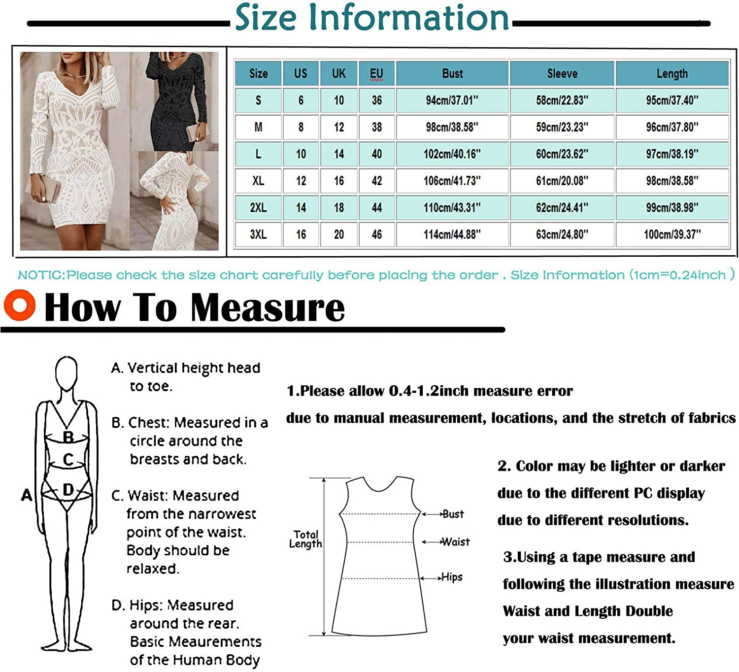 Lovor Pure Color Women Retro Printed Mid-length Slim Dress V-neck Long Sleeve Night Party Work Packed Hip Dresses