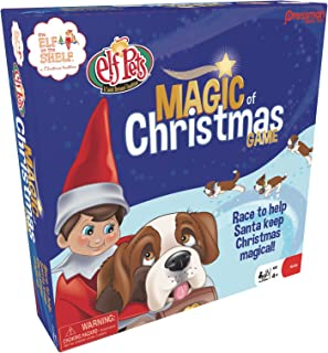 Pressman PRS0066-04, Toys Elf on The Shelf: Magic of Christmas Game (4 Player), Multicolor, 5