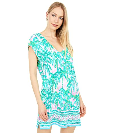 Lilly Pulitzer Talli Cover-Up (Pink Blossom Suite Views Engineered Cover-Up) Women