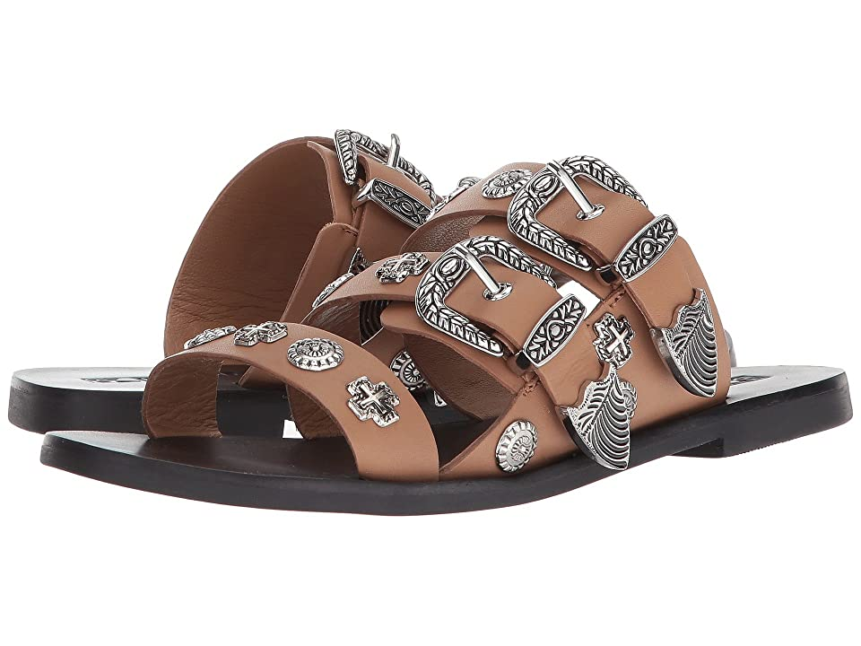 Sol Sana Eastwood Slide (Tan Stud) Women