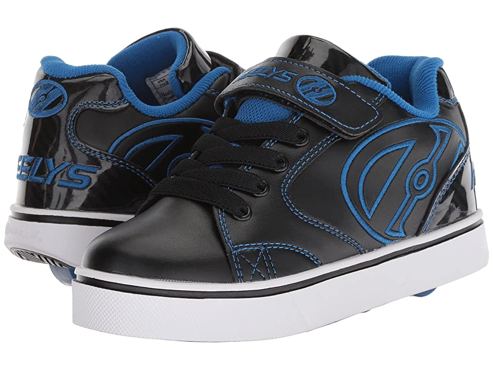 Heelys Vopel X2 (Little Kid/Big Kid/Adult) (Black/Royal) Boys Shoes