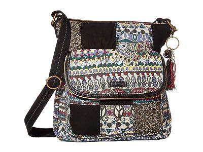 Sakroots Artist Circle Flap Crossbody (Multi One World) Cross Body Handbags
